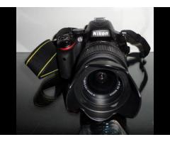Nikon d5100 with 18-55 lens