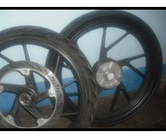 magwheels and rim U type