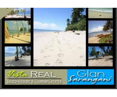 White sand of Glan Sarangani
