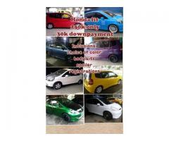 Honda Fit 30k Downpayment