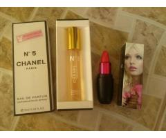 IMPORTED CHANEL SPRAY + M.A.C LIPSTICK