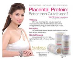 Placental Protein with Mosbeau Placenta White Advanced Food Supplement