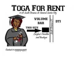 Toga for Rent