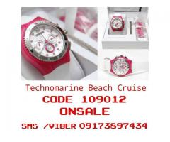 TECHNOMARINE Beach Cruise Chronograph Pink Watch 109012