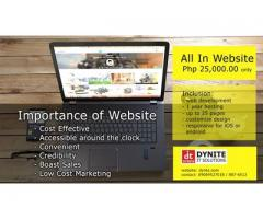 All In Website Php 25,000.00 only