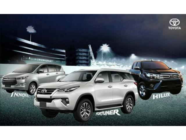Brand New Toyota Cars on Promo