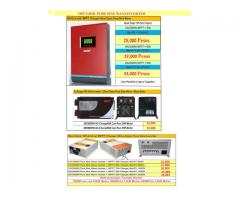 solar-inverter- deep cycle battery-controller-solar power kit