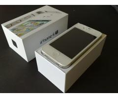 Iphone 4s white factory unlock complete set