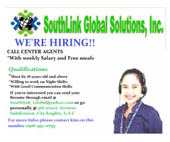 Call Center urgent hiring!