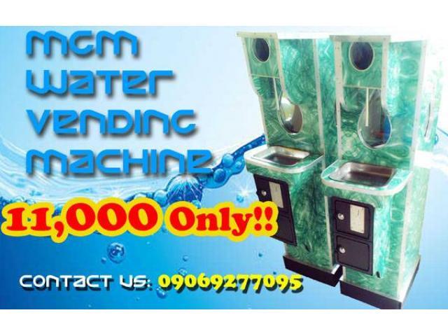 AUTOMATED WATER VENDO MACHINE