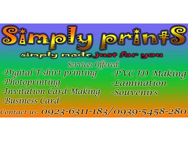 Cheapest Digital t-shirt Printing in Gensan