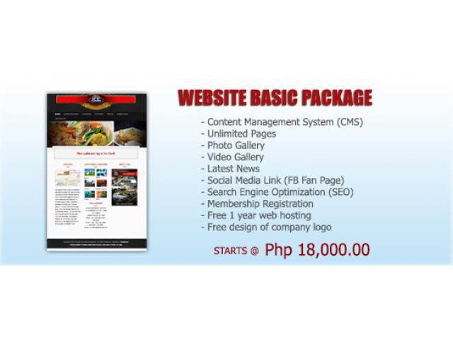 Website Development starts @18k